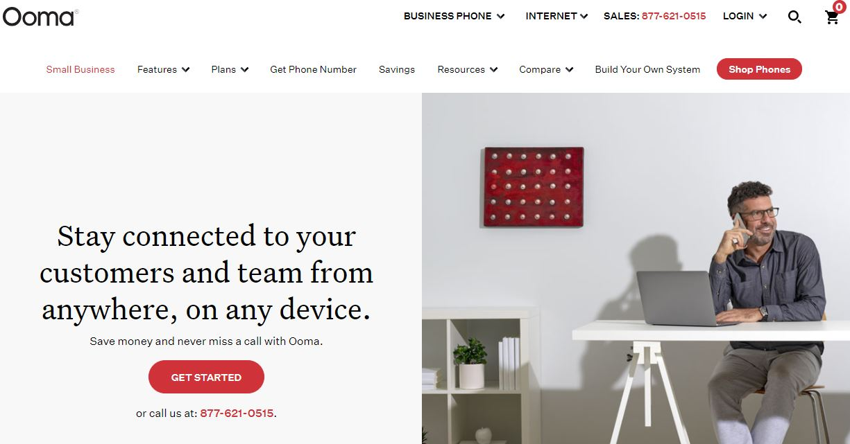 Ooma is one of the Small Business Phone Services