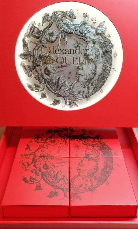 Alexander McQueen's Mid-Autumn Festival decorative mooncake packaging from 2020.