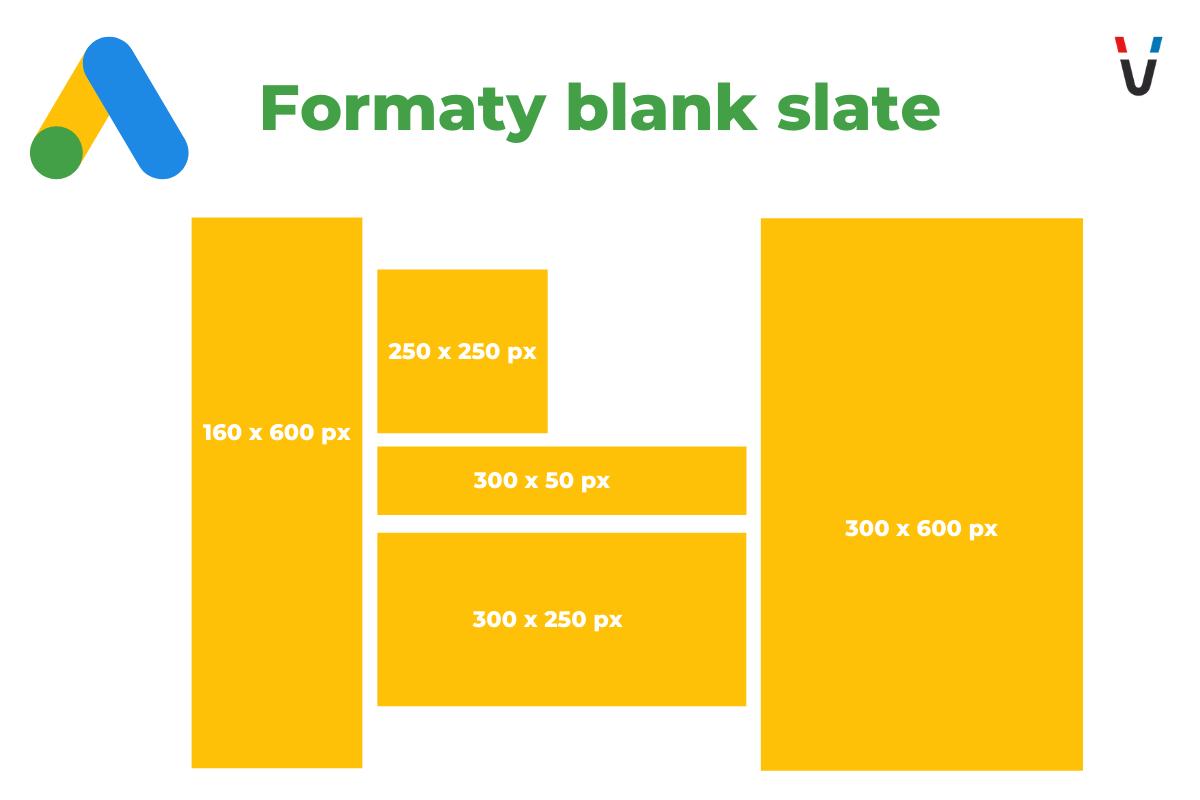 blank slate wymiary grafik