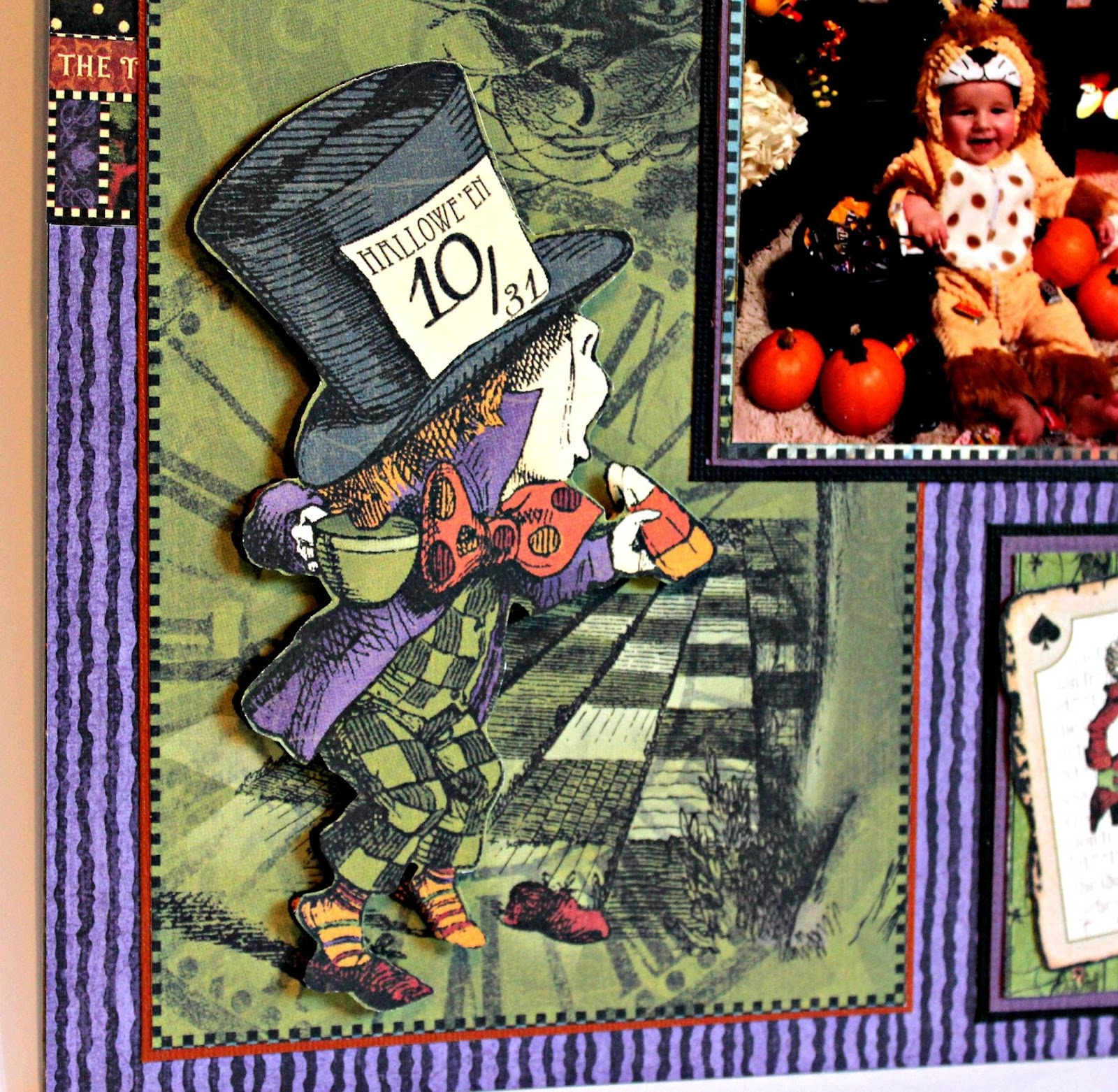2017 G45 Brand Ambassadors- 2017 Pam Bray  - June 2017 - Halloween in Wonderland Layout - Photo 5_7501.JPG