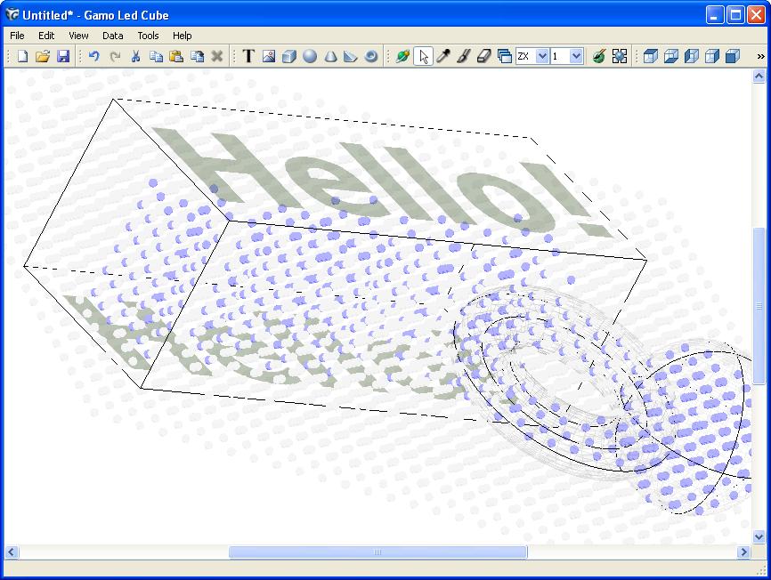 Phần mềm LED cube dùng để mã hóa Led 3D - Linh kiện điện tử Vietnic