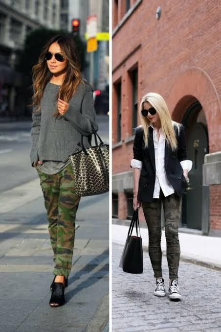 Image result for camo women street