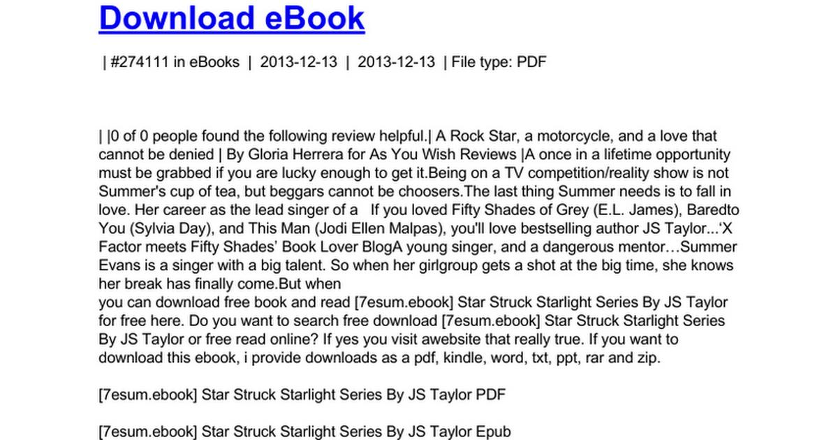 star-struck-starlight-series doc - Google Drive