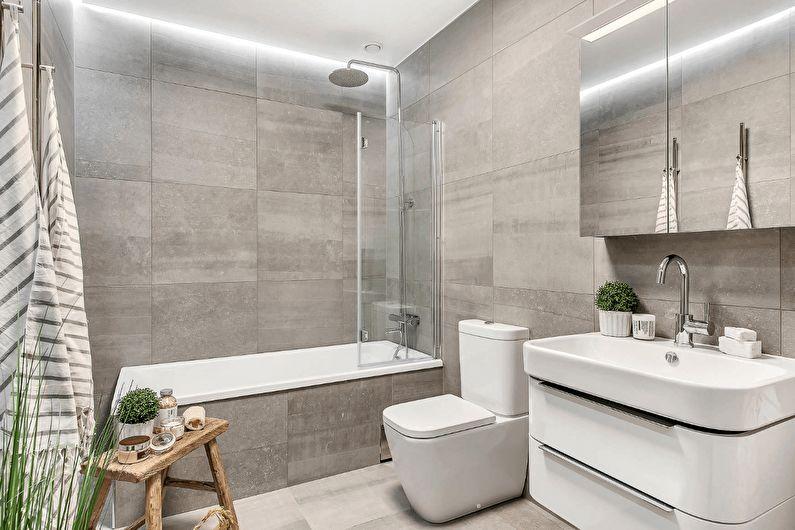 Как сэкономить ценные метры маленькой ванной - Ukrinstal