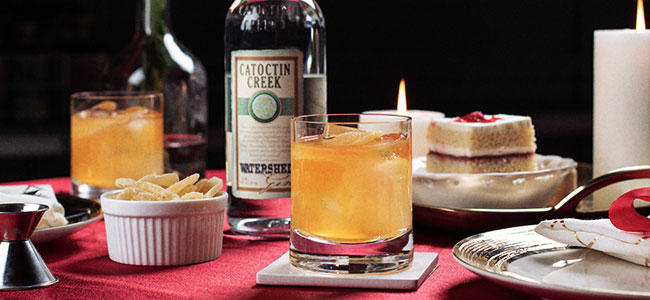 A Quintessential Valentine's Day Cocktail