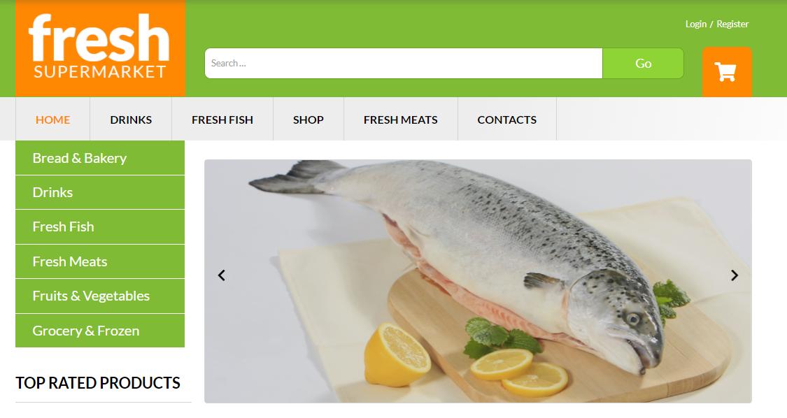 Fresh Fresh - woocommerce supermarket themes
