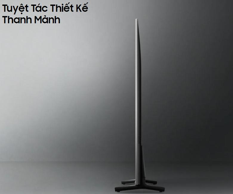 Smart Tivi Samsung 4K UHD 50 inch UA50AU8000KXXV | Tuyệt tác thiết kế thanh mảnh
