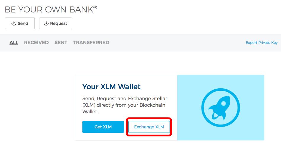 xlm wallet