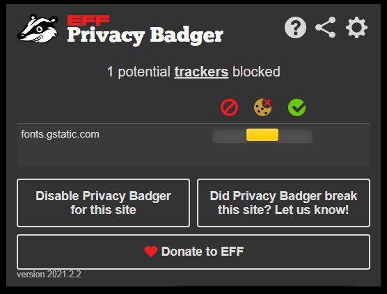 Privacy Badger - Best Free Ad Blocker Software