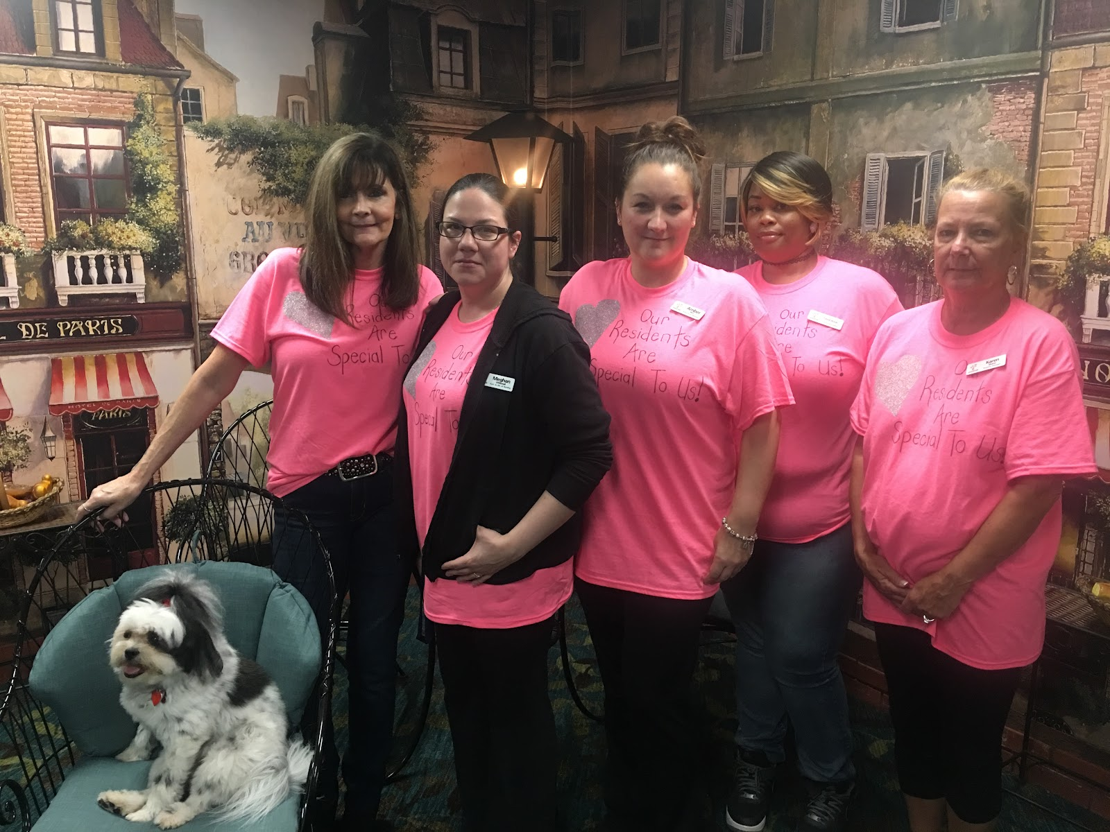 Throughout The Week, Residents And Staff Were Encouraged To Wear A  Different Color Or Color Combination Each Day. This Was A Nice Way To Bring  Everyone ...