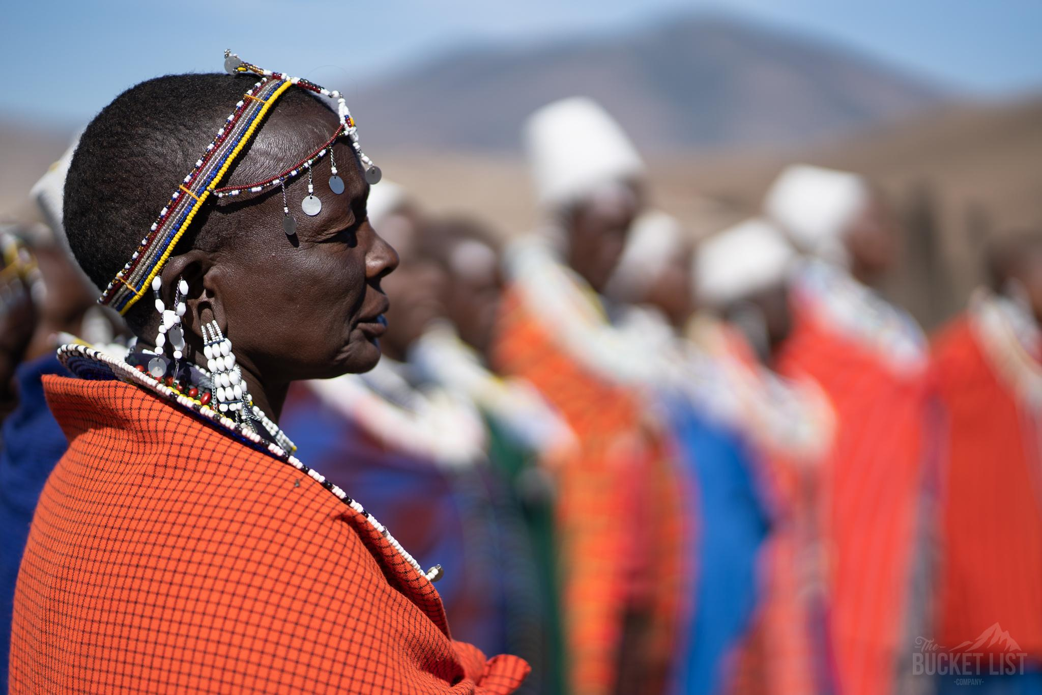 A group of people who live near Kilimanjaro