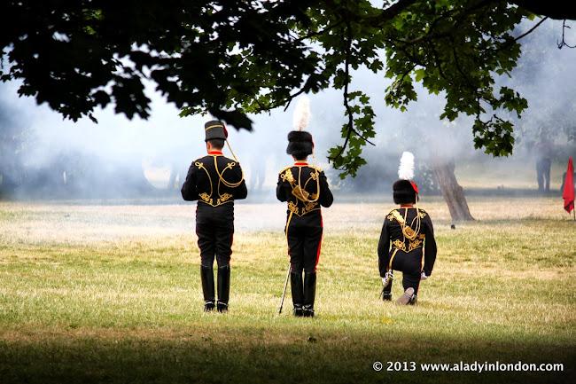 Royal Baby Gun Salute in London