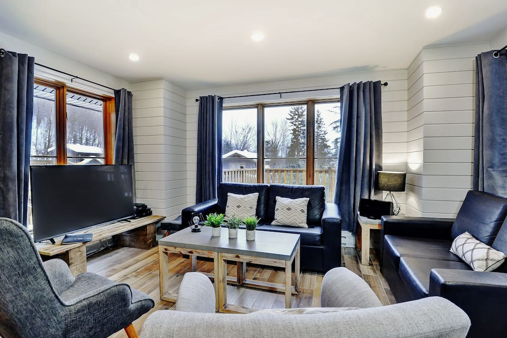 Cottages for rent for 8 people in Quebec #7