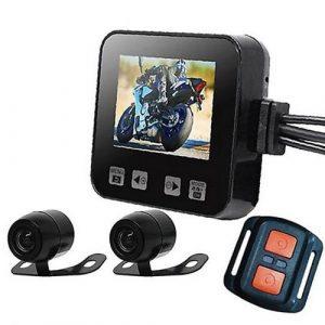 1. PROOF กล้องติดรถมอร์เตอร์ไซค์หน้า-หลัง Bike Cam 400 พร้อมหน้าจอแสดงผล ราคา 3,000 บาท