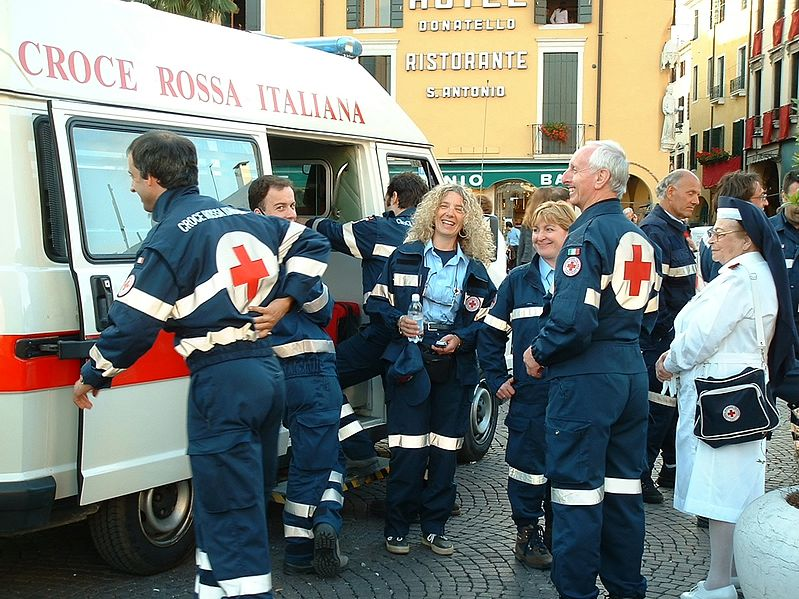 Red cross Italy
