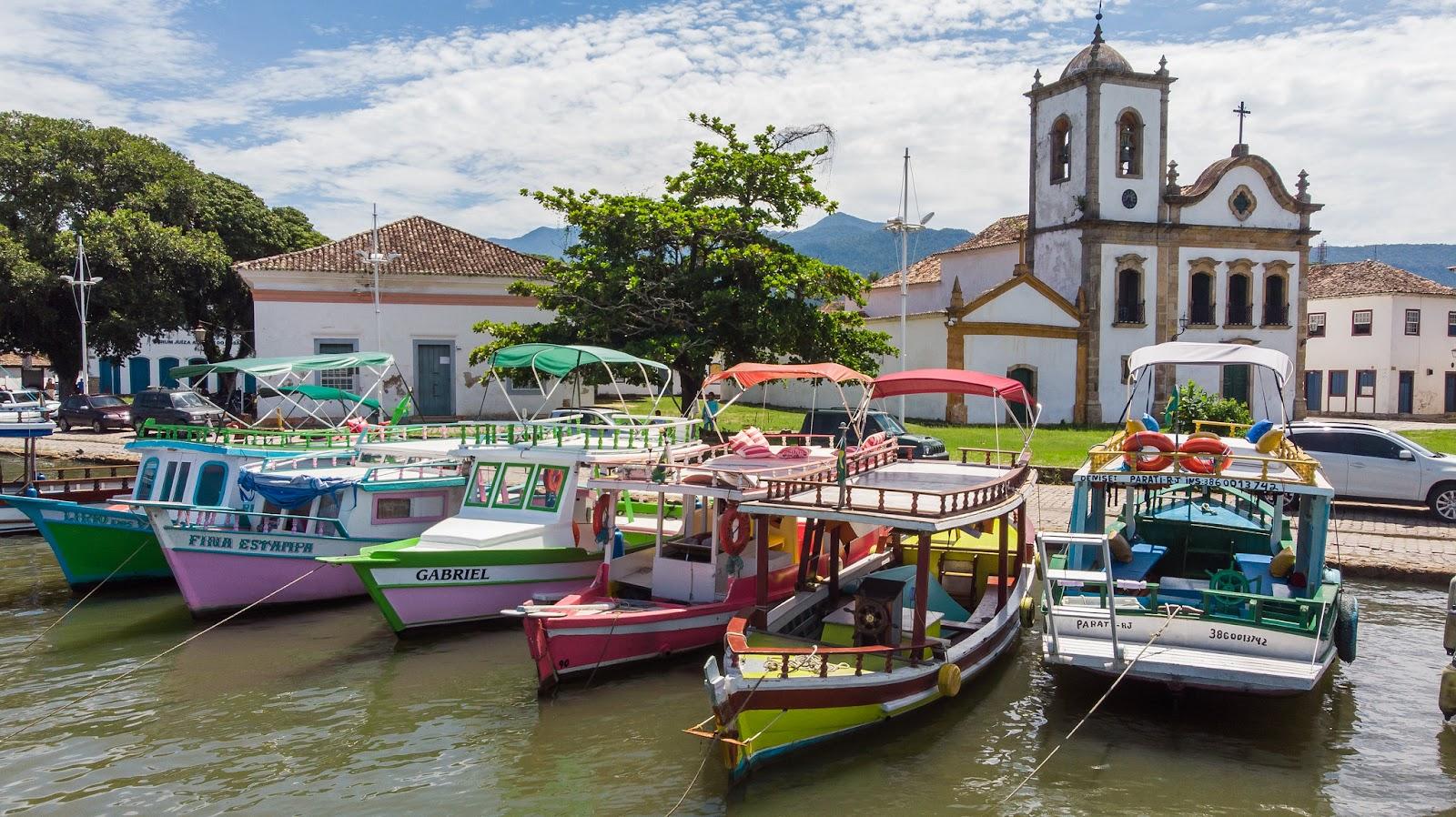 Cais de Paraty no Rio de Janeiro