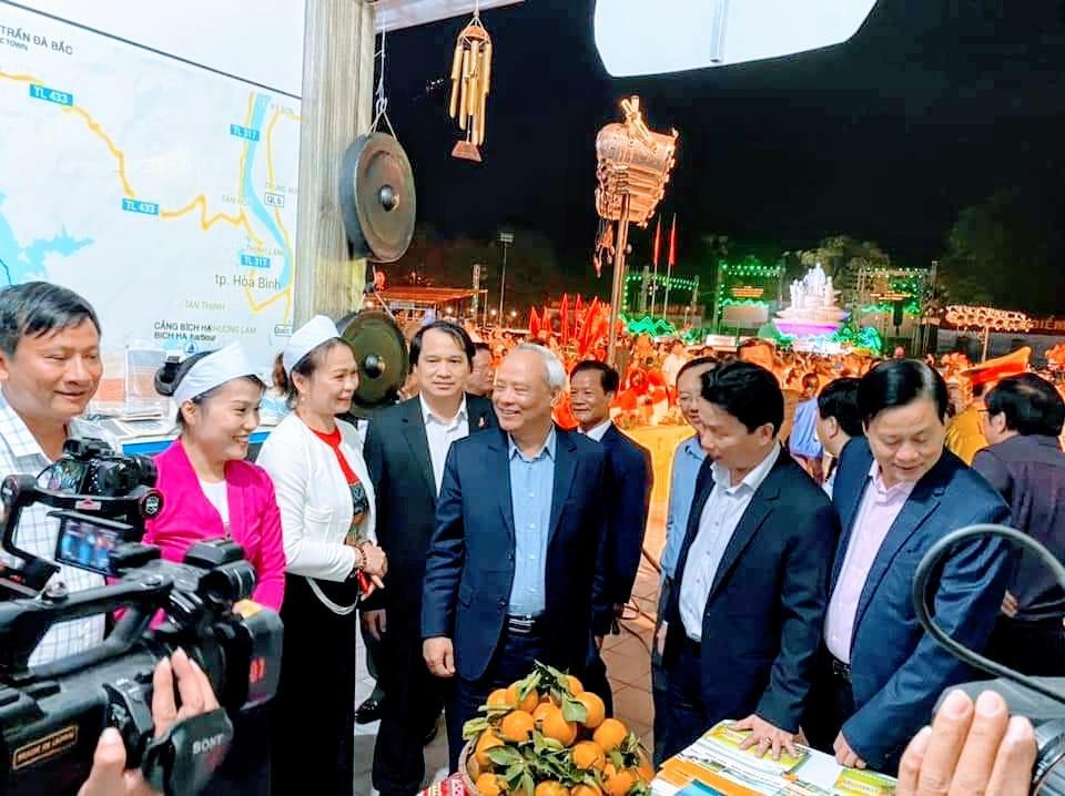 Hoà Bình tham gia các sự kiện du lịch tại tỉnh Hà Giang