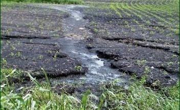 водна ерозія