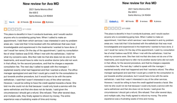 The Case of the Fake Duplicate Reviews 4