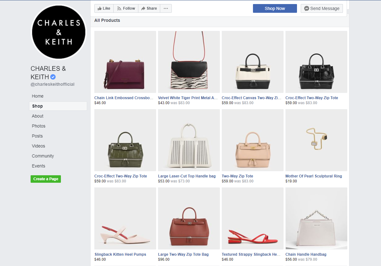 Using the Facebook Shopping channel has led C&K to greatly increase its annual sales.