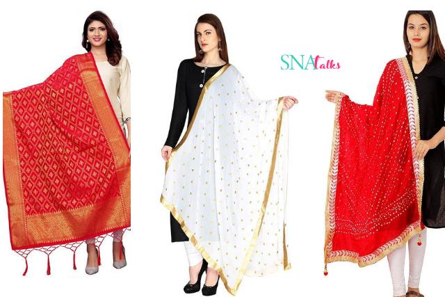Silk Dupatta , Vanarasi Dupatta , heavy Dupatta