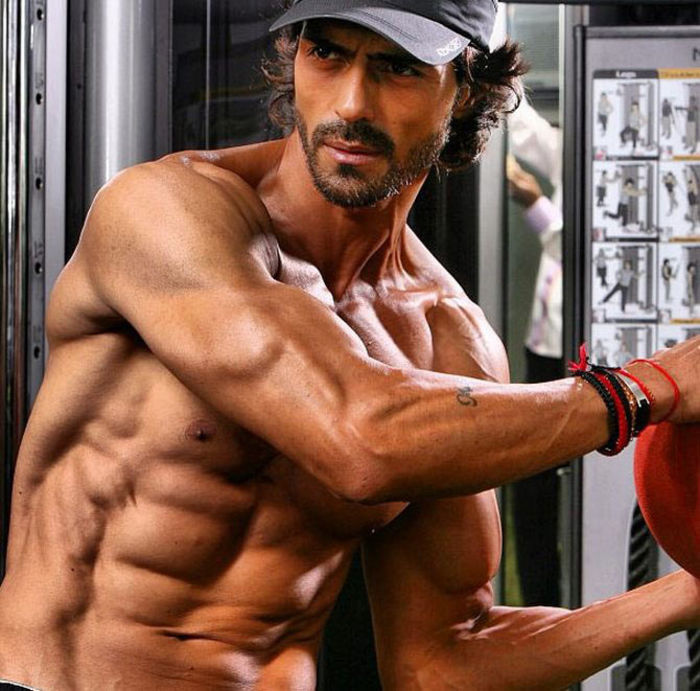 Bollywood Actors Workout Pictures | Arjun Rampal