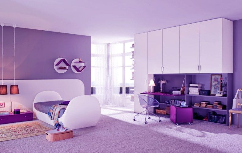 Purple Little Girl Bedroom Ideas