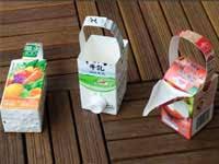 「牛乳パック じょうろ」の画像検索結果