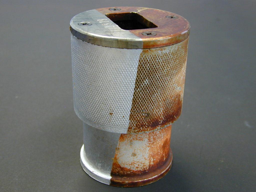 Чистка лазером по металлу
