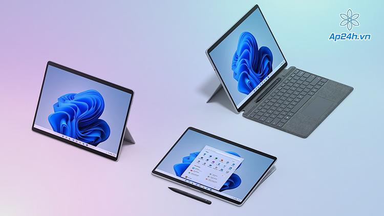Surface Pro 8 có thiết kế như Surface Pro X
