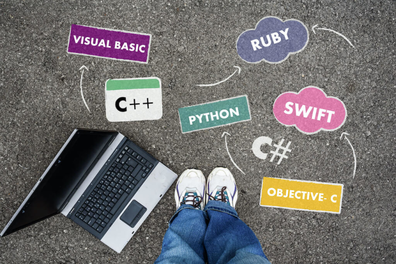 a kid choosing the best coding language to learn