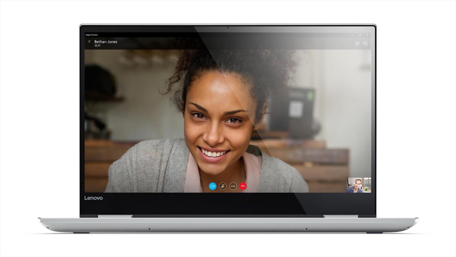 Фото1  Ультрабук Lenovo Yoga 720 Platinum (80X700BFRA)