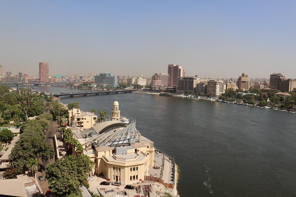 Nile River, Cairo, Nile, River, Egypt, Tower