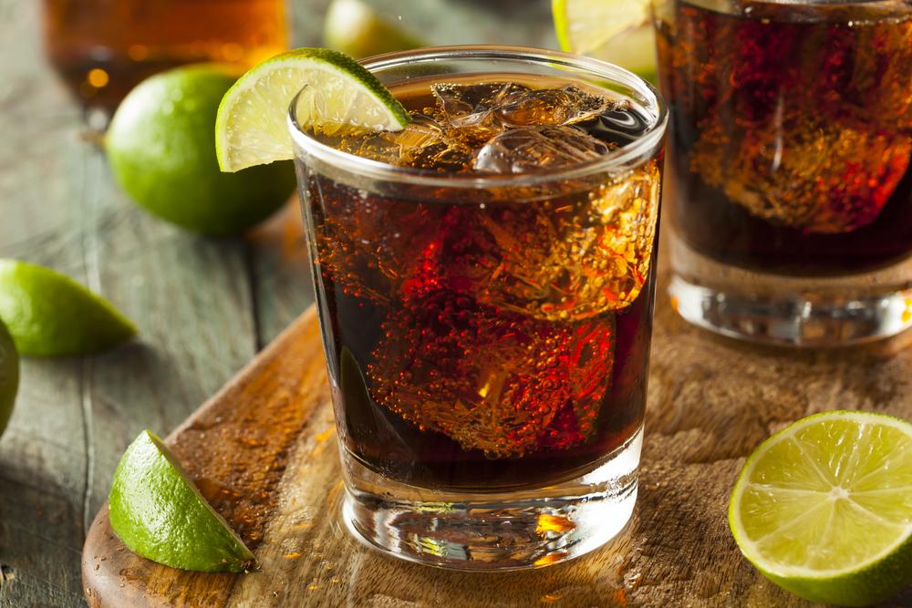 Cuba Libra - cola and rum