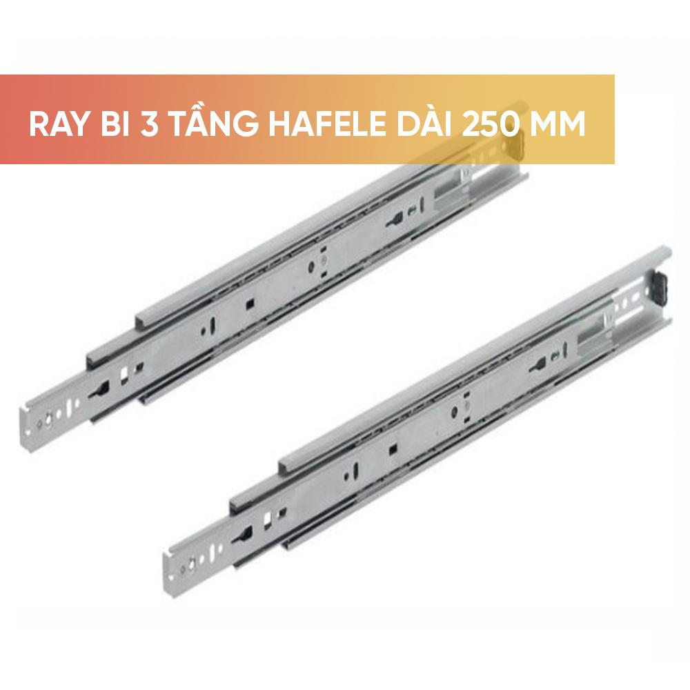 Ray âm giảm chấn Hafele mở toàn phần dài 500 mm- 433.10.466