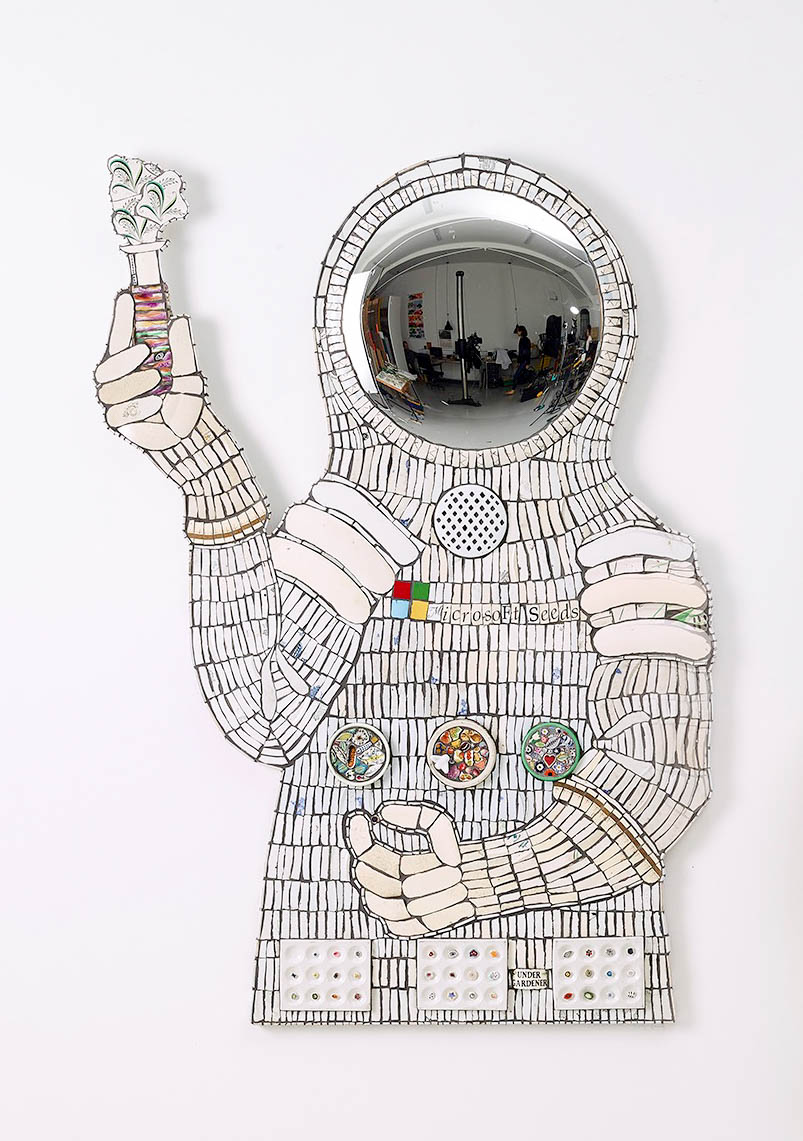 Covid19 Mosaic Artwork