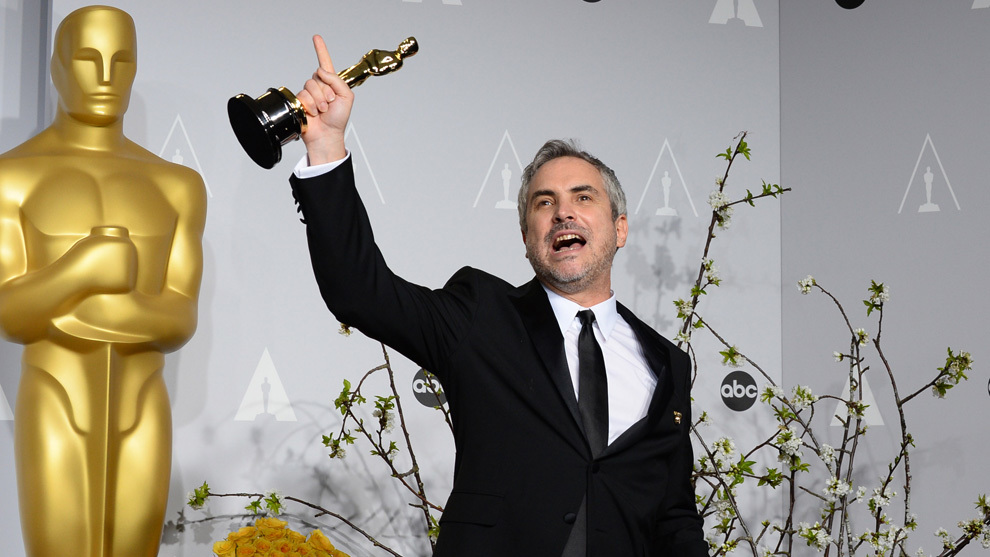 Image result for alfonso cuaron oscars 2019