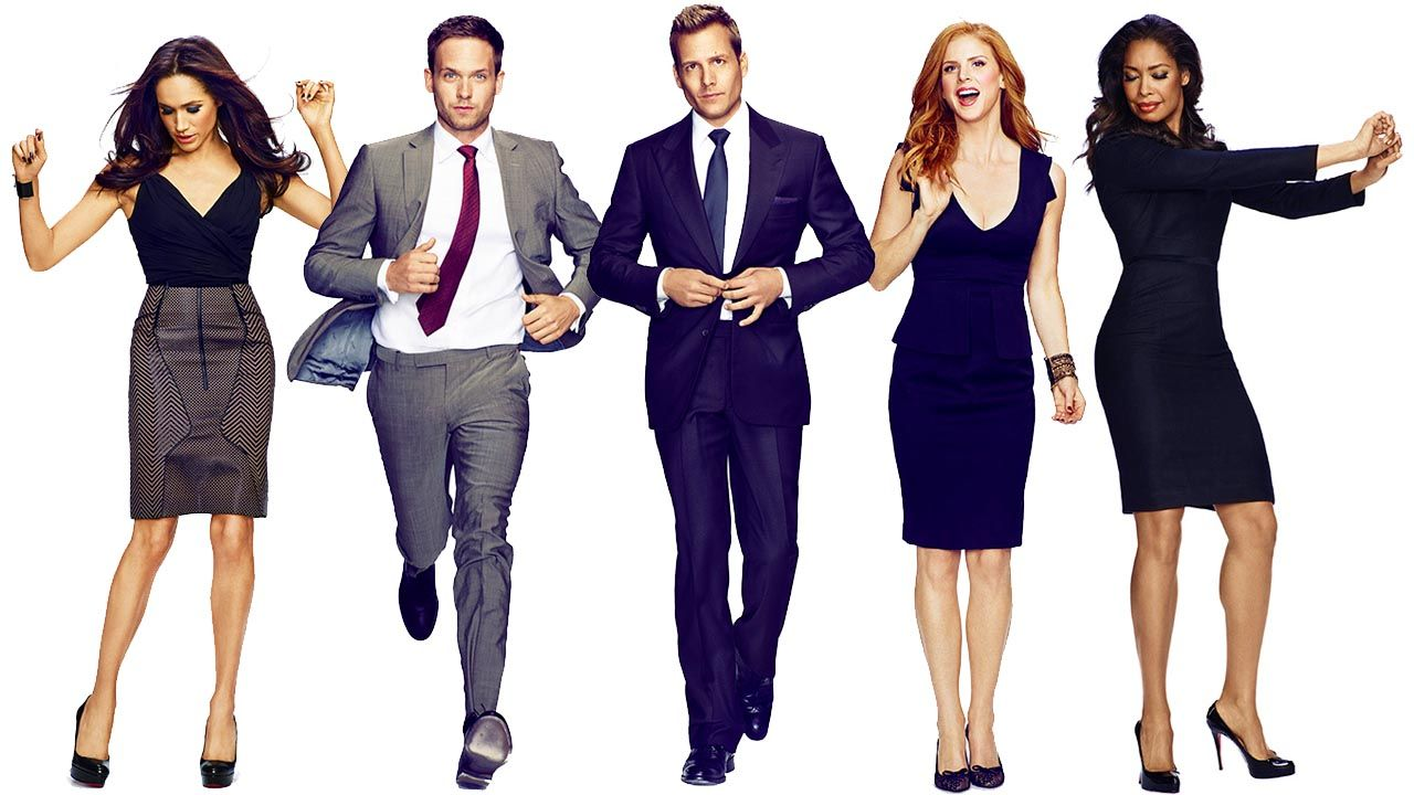 lead characters of suits