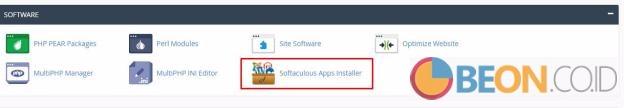 install Aplikasi Softacolous