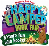 Image result for scholastic happy camper book fair