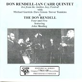 The Don Rendell 4 & 5 plus Don Rendell-Ian Carr Quintet - 1964-68