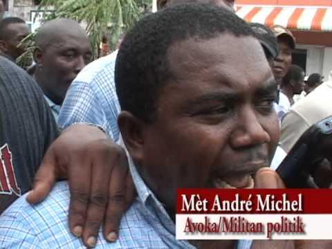 SEDITION – ARREST ANDRE MICHEL