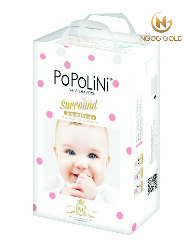 Bỉm/ tả popolini - Bé khỏe mẹ vui