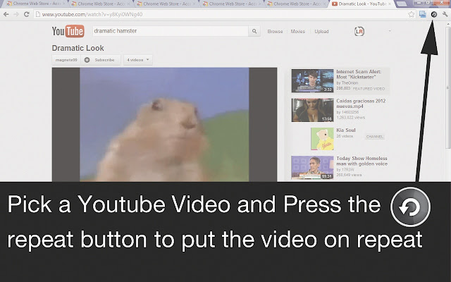 Youtube Video Repeat