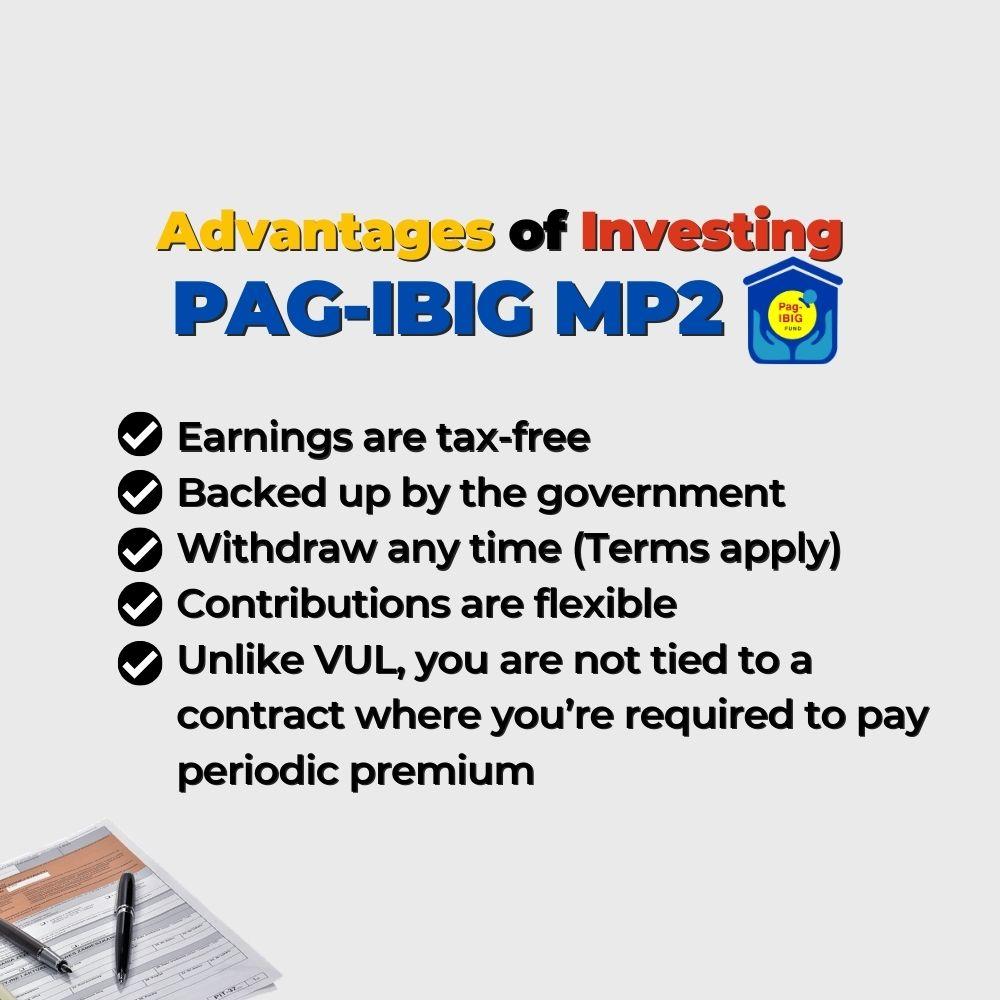 Advantages of Investing PAGIBIG MP2 - Filipino Homes