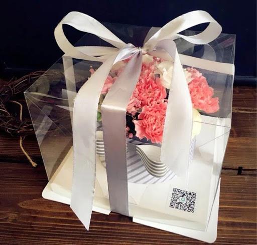 trang trí hộp đựng bánh kem bánh sinh nhật