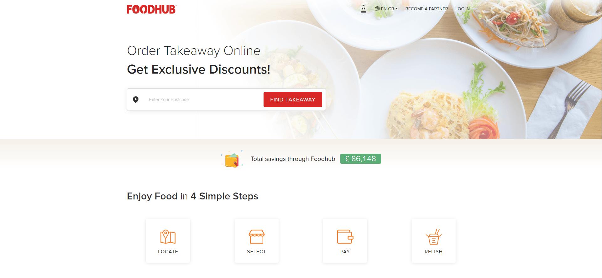 foodhub website image