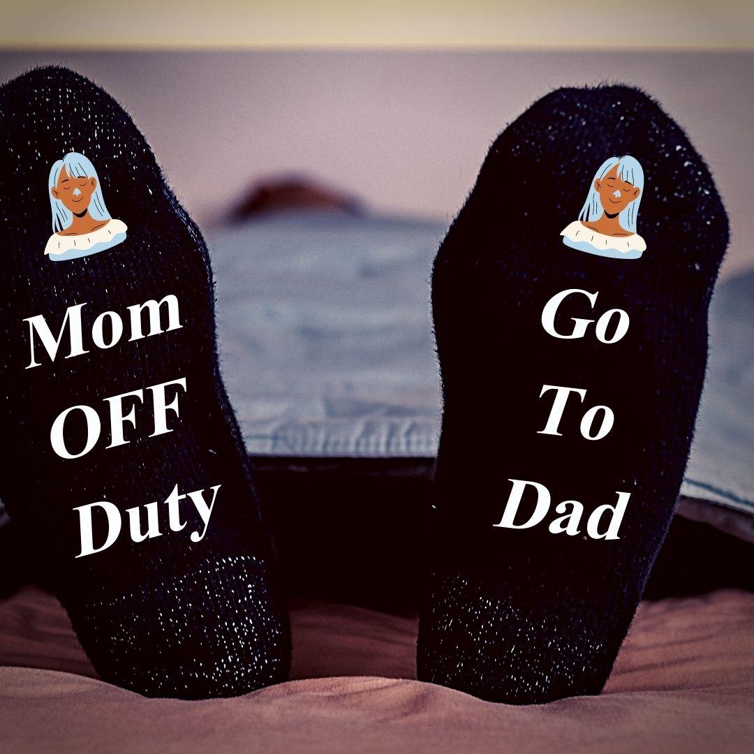 Sock joke for Mom