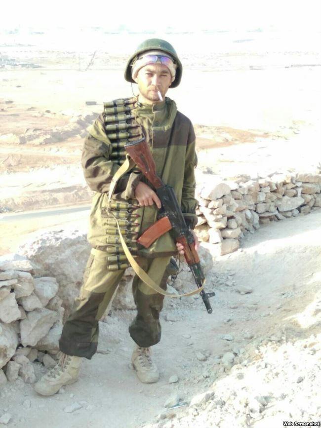 Сергей Макаров в Сирии
