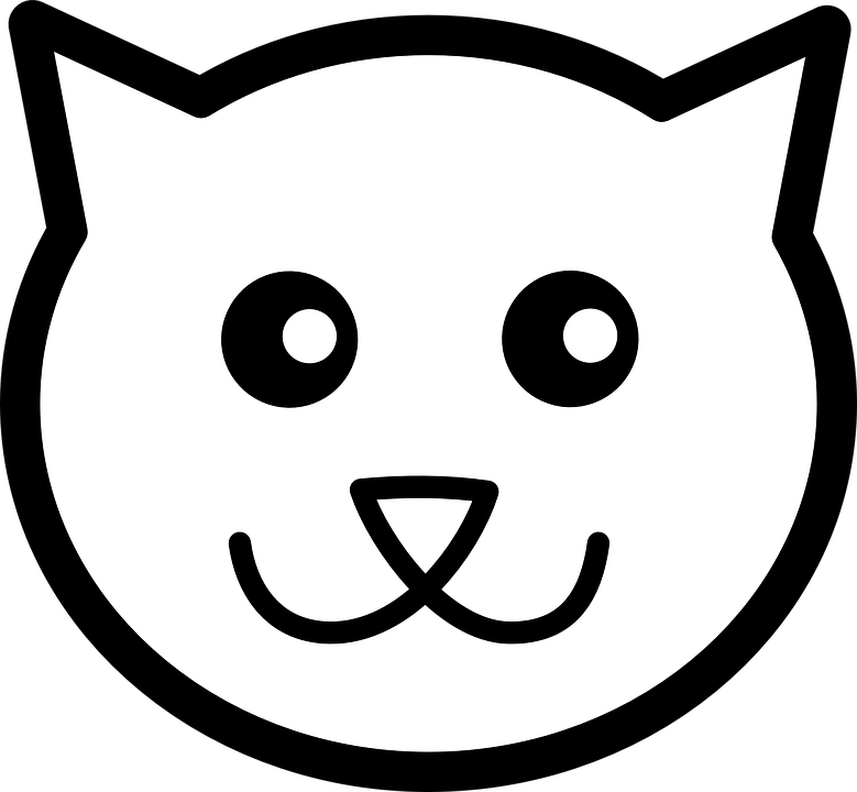 Cat, Face - Free vector graphics on Pixabay